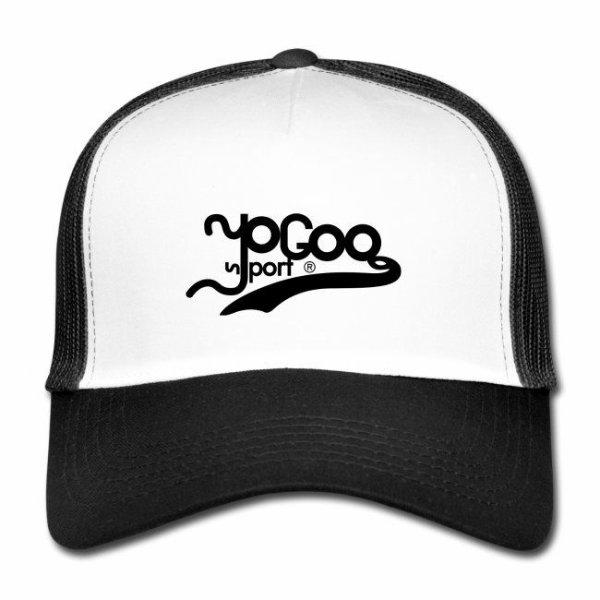 Casquette filet ajustable au look rétro, en polyester et coton,:de la marque yogoosport® (&)une marque de vêtements de Sports.
