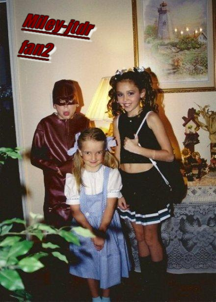 Photos d'enfance de Miley