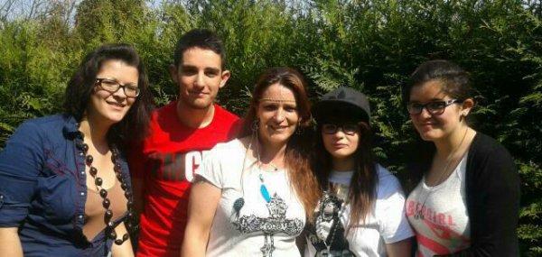 Mes enfants et moi :-)