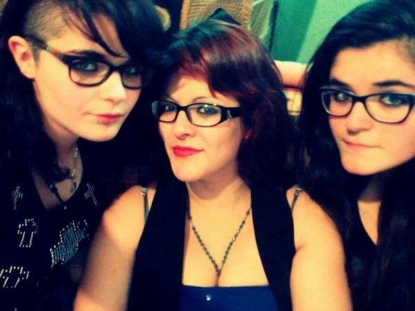 Mes 3 filles caroline marine et feline