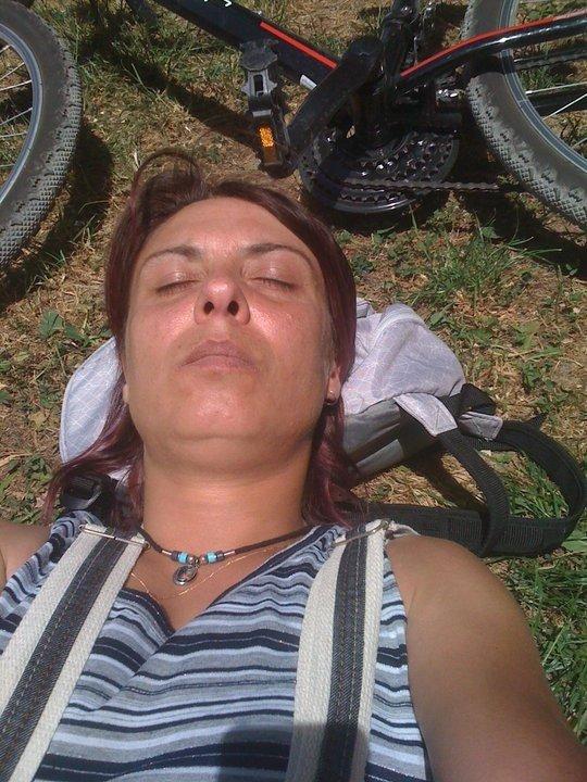 elle est pas belle vie mon vélo et du soleil