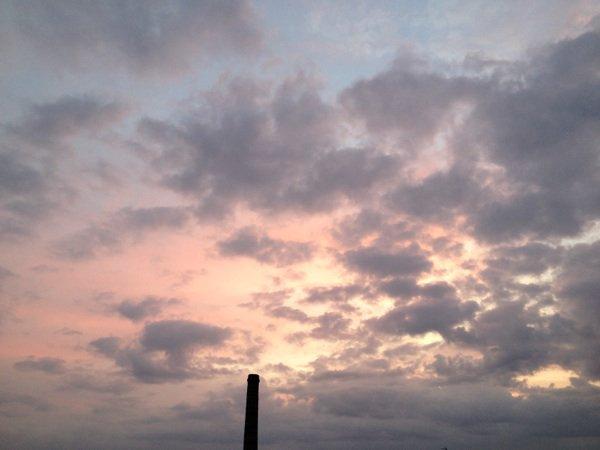bonne journée sous la grisaille de l'Oise