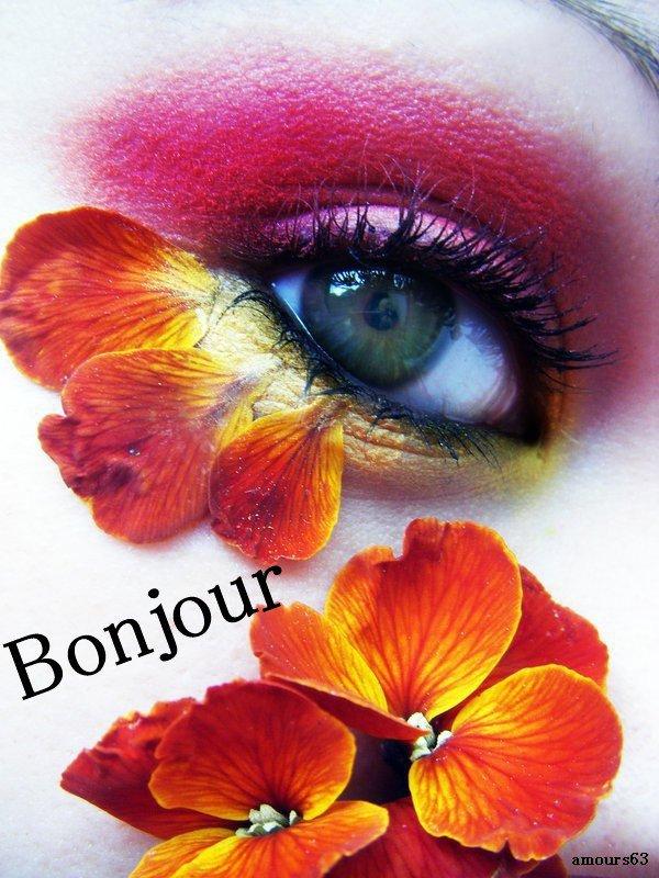 Bonjour Bonne Journee Bon Lundi Bonne Semaine Bisous A Tous Mon