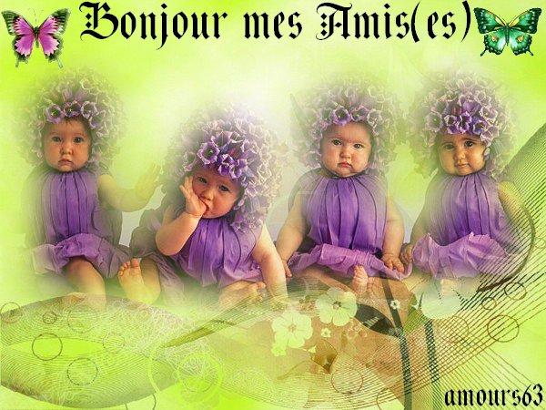 BONJOUR PASSEZ UN TRES BON MERCREDI JOURNEE DES ENFANTS BISOUS