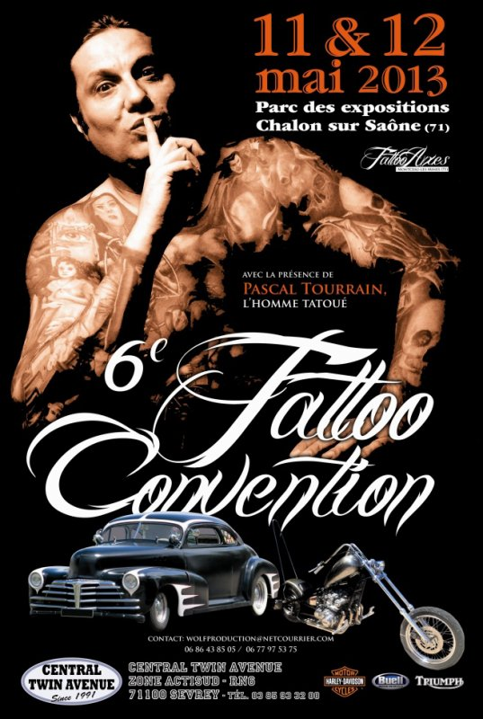 6ème  TATTOO CONVENTION ET KUSTOM CULTURE