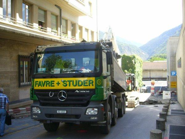 Stage Favre et Studer