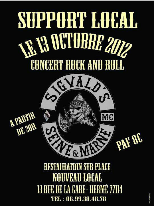 Support Sigvald's ...