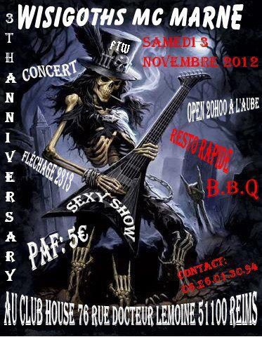 3th Anniv Wisigoths ...