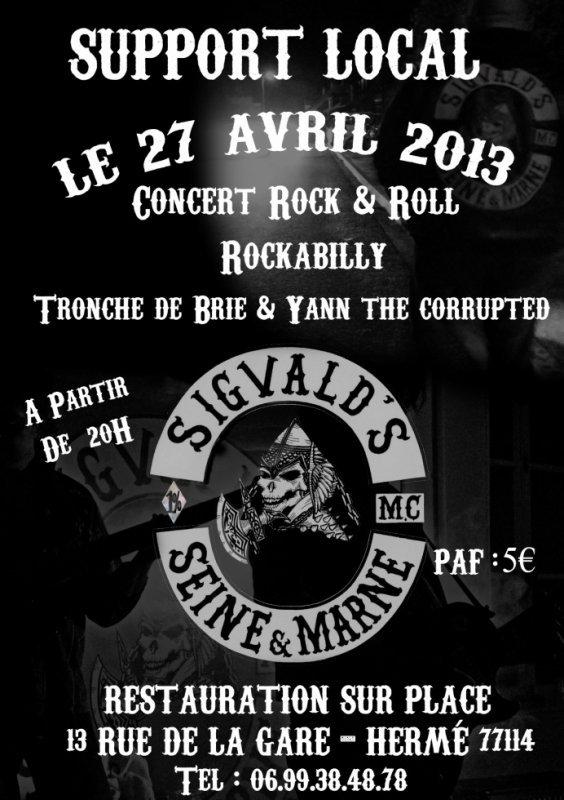 soirée support Sigvald's