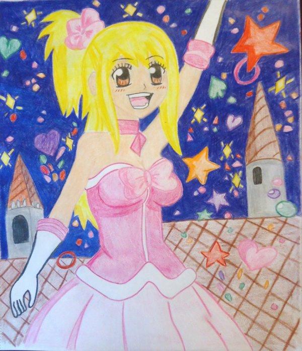 dessin Lucy de fairy tail ~~~ <3