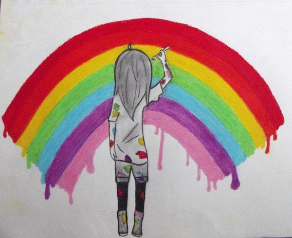 peindre les murs de sa chambre *o*