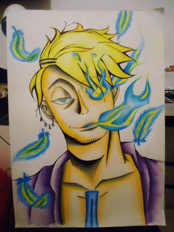 Fan Art Marco De One Piece