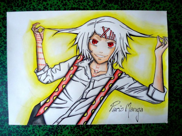 Fan Art suzuya juuzou Tokyo Ghoul :3