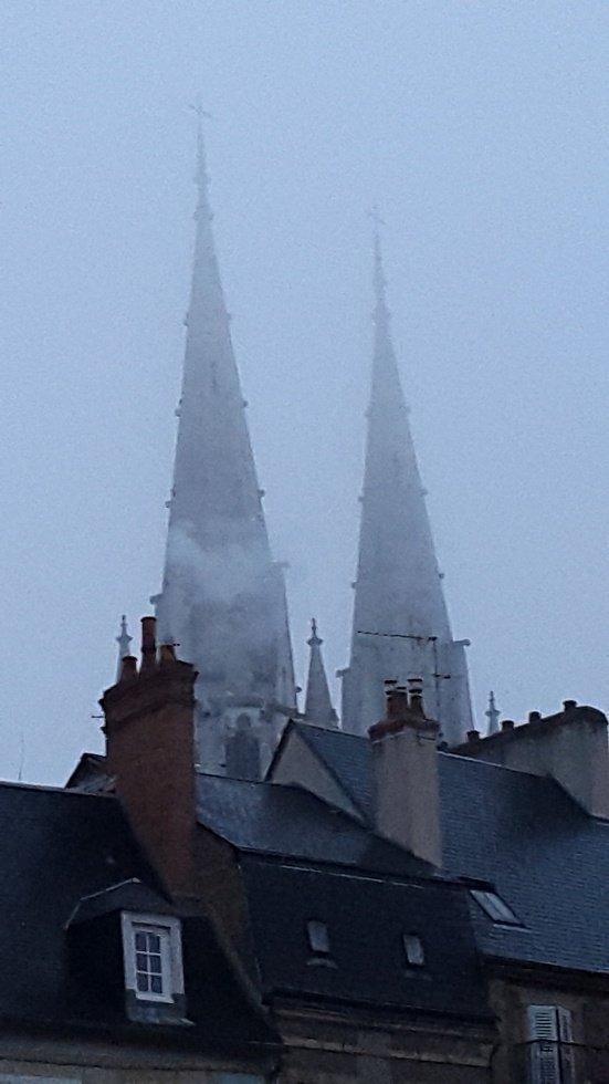 La brume moulinoise....