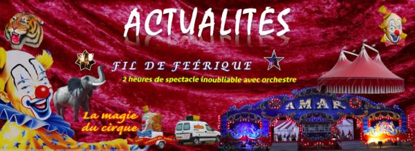 Flyers du Cirque La Piste d'Or (Dir. Ralph Falck) dans l'Ouest et le Centre de la France !