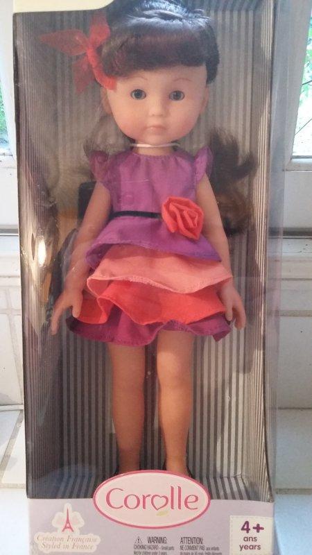 pour information: poupée Chérie Corolle vendue.