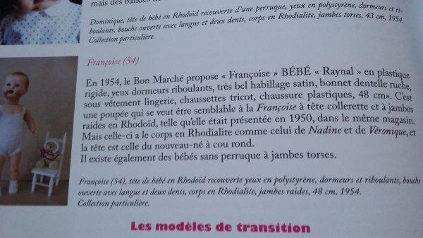 Je crois avoir la réponse, qu'en pensez-vous? J'ai consulté le livre de Mme Chauveau page 90, ce serait donc Françoise!