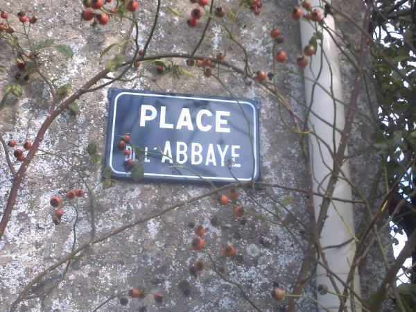 VESTIGES DE L ABBAYE..N°1