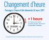 CHANGEMENT D HEURE 2017
