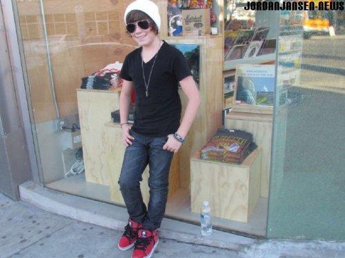 Photos de Jordan a L.A le mois dernier.