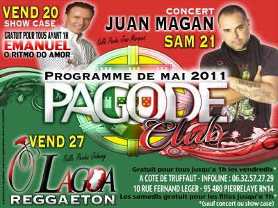 FLYER MAI 2011 LA PAGODE