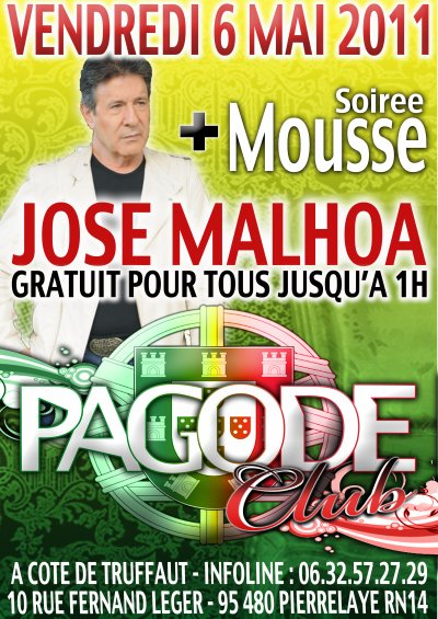 JOSE MALHOA + MOUSSE PARTY