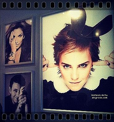 . » Candid, Emma à Toronto + Nouvelle photo pour Elle. Magasine. «  ♥ Crédit des sources utilisées: EmmaWatsonFrance.net ♥ .