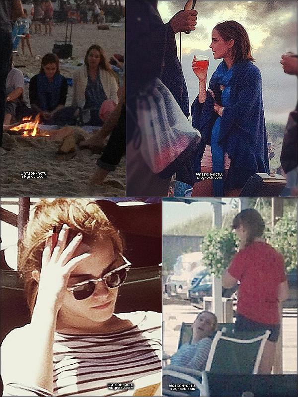 """. » Emma sur le tournage de son film, intitulé """" NOAH """" «  ♥ Crédit des sources utilisées: EmmaWatsonFrance.net + WatsonUncensored ♥ ."""