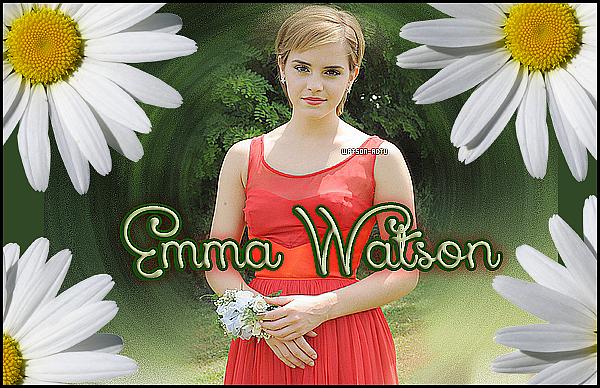 . » Toute l'actu' d'Emma Charlotte Duerre Watson sur Watson-Actu.skyrock.com « ♥ CREDIT: EmmaWatsonFrance.net + EmmaWatsonFan.net + EmmaWatsonDaily.org + WatsonUncensored ♥ .