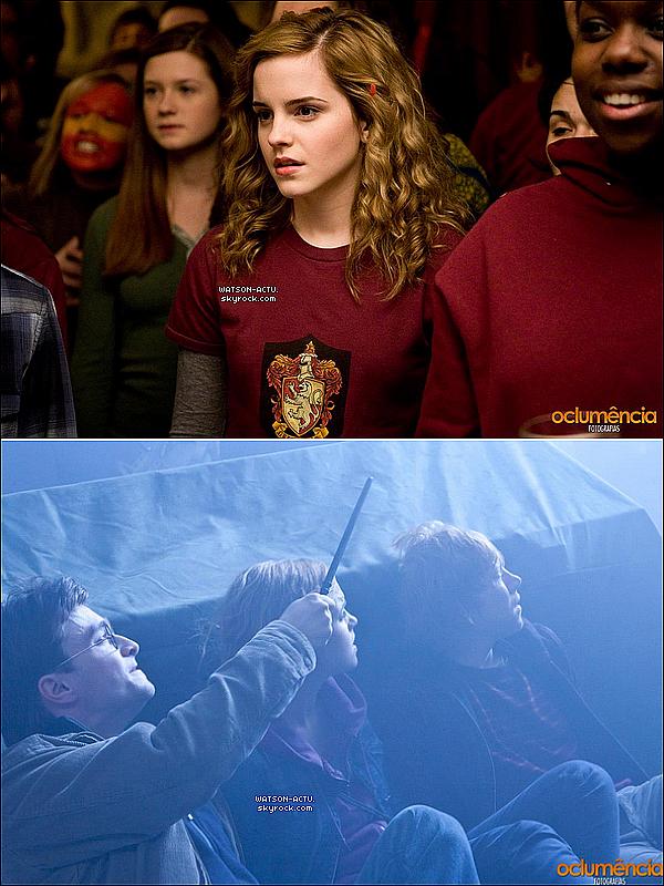 . » Nouveaux Stills Harry Potter + Behind the Scene lors du shoot pour les magasines Glamour Américain et Glamour Anglais.«  ♥ Crédit des sources utilisées: EmmaWatsonFrance.net + EmmaWatsonFan.net ♥ .