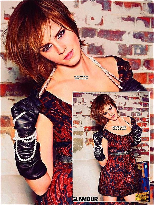 . » Extrait Interview du Glamour UK + Nouvel Outtake. «  ♥ Crédit des sources utilisées: EmmaWatsonFrance.net + Tumblr ♥ .