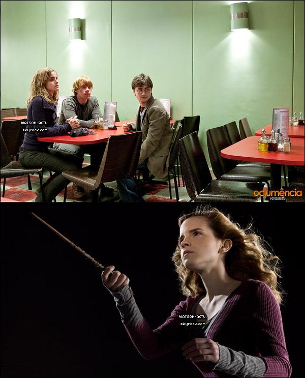 . » Nouvelles photos de Harry Potter & de The Perks Of Being A Wallflower. «  ♥ Crédit des sources utilisées: EmmaWatsonFan.net ♥ .