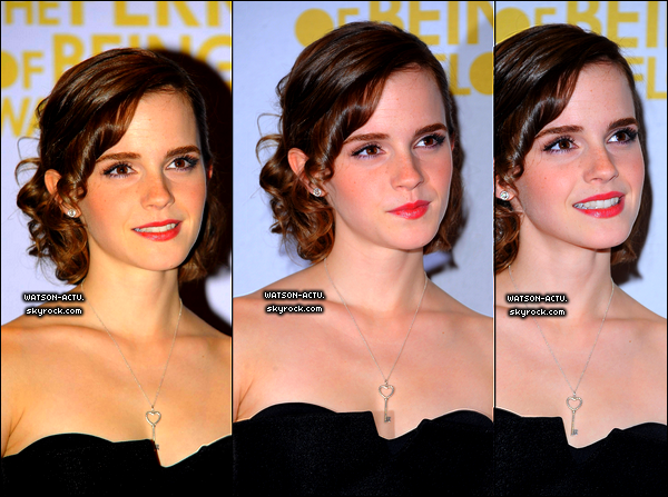 . » Emma à la BBC Radio + Première du film ' The Perks Of Being A Wallflower '. «  ♥ Crédit des sources utilisées: EmmaWatsonFrance.net  ♥ .