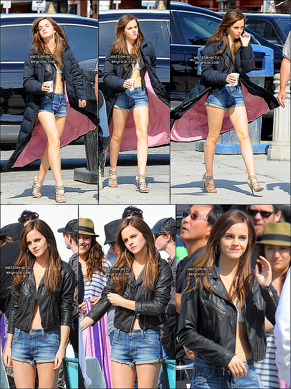 Article spécial HORS NEWS N°3  > FlashBack sur le tournage de The Bling Ring, le 12/O4/12 ♥  <