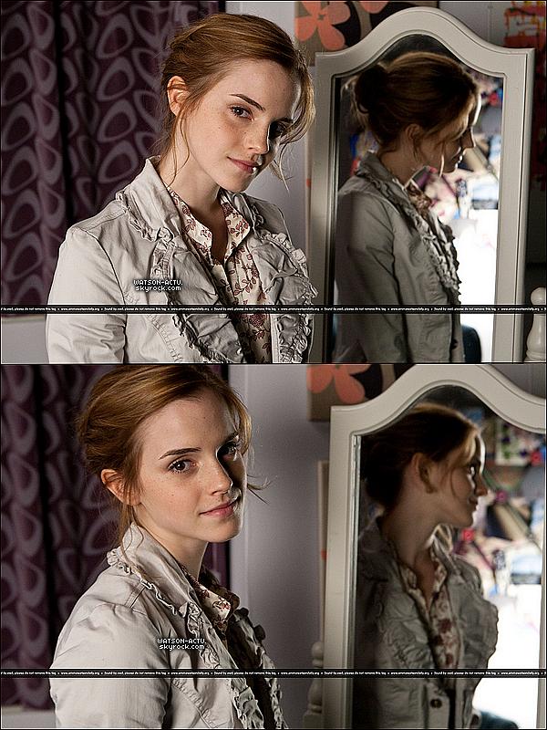 . » Nouvelles photos pour 'Elle.' + Nouveaux Stills d'Harry Potter. «  ♥ Crédit des sources utilisées: EmmaWatsonFrance.net + EmmaWatsonFan.net ♥ .