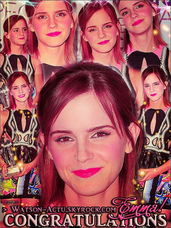 . » Emma aux 'Peoples's Choice Awards 2013' ! + Vidéo + Montage + Tweet. «  ♥ Crédit des sources utilisées: EmmaWatsonFrance.net ♥ .