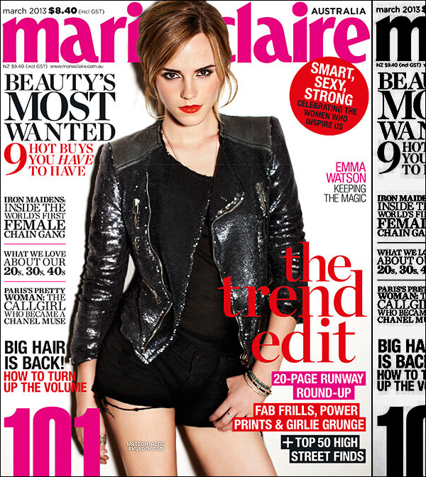 . » Emma a été aperçue à New York City + Photos + Scans & Interview. «  ♥ Crédit des sources utilisées: EmmaWatsonFrance.net & EmmaWatsonFan.net ♥ .