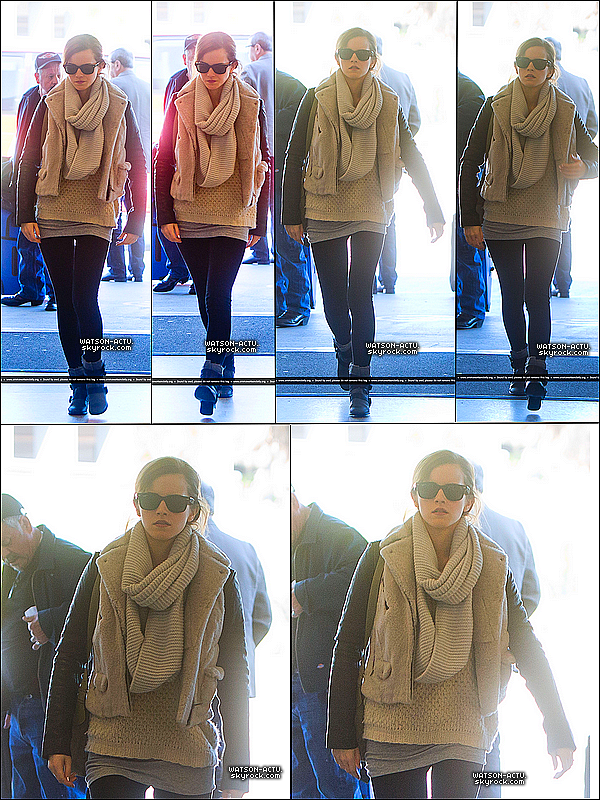 . » Emma a été vue par les paparazzis à l'aéroport de LAX ! + Rumeurs & Info «  ♥ Crédit des sources utilisées: EmmaWatsonFrance.net & EmmaWatsonDaily.org ♥ .