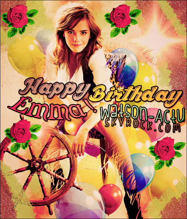 . » ₪  En ce 15 avril, nous fêtons le 23ème anniversaire de notre Emma ₪  «  .