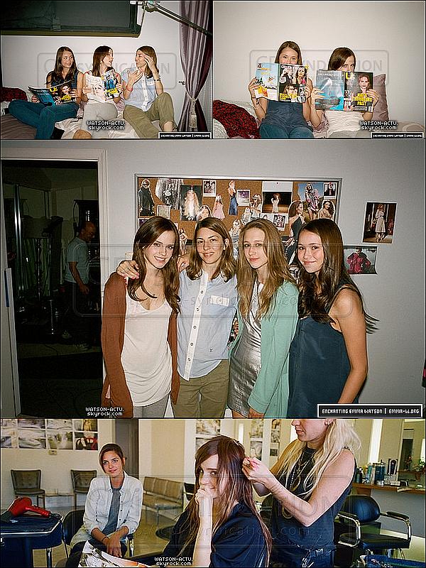. » Nouvelles photos et infos de The Bling Ring et de This Is The End + Candid  «  ♥ Crédit des sources utilisées: EmmaWatsonFan.net & Emma-W.org ♥ .