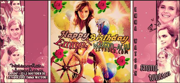 . » Emma à la cérémonie des MTV MOVIE AWARDS 2O13 ! + 23rd Birthday ! «  ♥ Crédit des sources utilisées: EmmaWatsonFan.net ♥ .