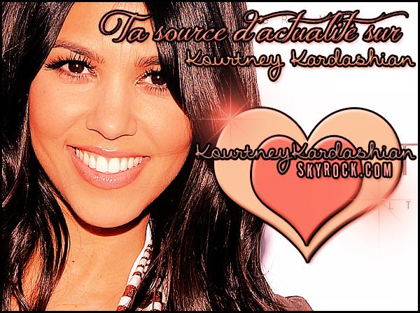 . » Publicité. Découvrez votre source d'actualité sur la Magnifique Kourtney Kardashian ! Cliquez vite sur le montage pour suivre son actualité  !  «  .