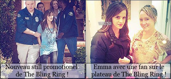 . » Nouvelles photos pour The Bling Ring. + Emma au MET GALA 2O13 ! «  ♥ Crédit sources utilisées: EmmaWatsonFrance.net & EmmaWatsonBelgium.blogspot.be ♥ .