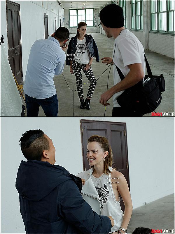 . » Candid, Emma et Will de retour à New York ! + Autres news. «  ♥ Crédit sources utilisées: EmmaWatsonFan.et ♥ .