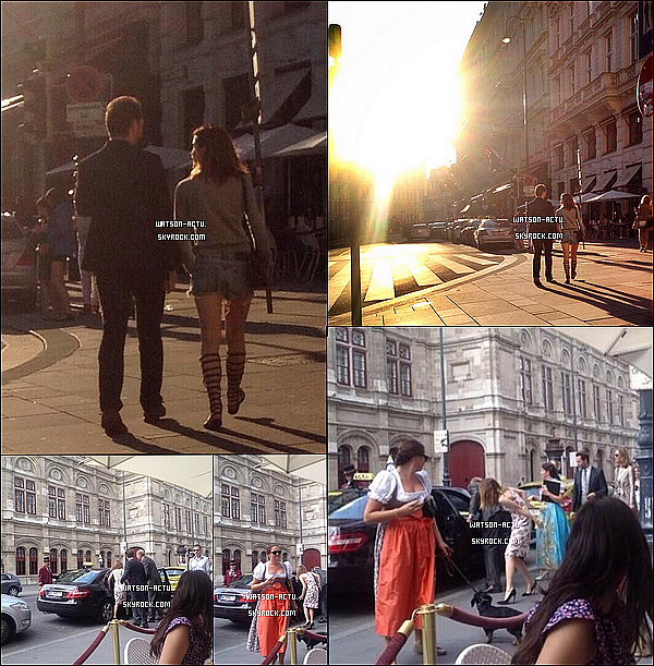 . » Nouveau Shoot + Nombreux Candids à Vienne et New York City ! «  ♥ Crédit sources utilisées: EmmaWatsonFrance.net ♥ .