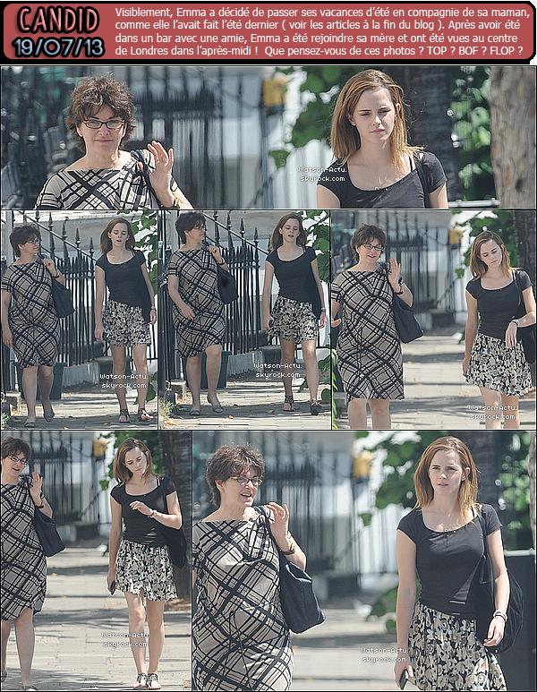 . » Nouveaux et Nombreux Candids d'Emma à Londres ! + Nouvelle Photo. «  ♥ Crédit sources utilisées: EmmaWatsonFan.net & EmmaWatsonDaily.org ♥ .