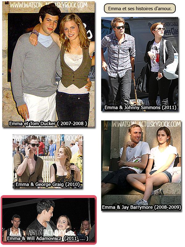 . » Savoir le principal sur la vie d'Emma Watson - Informations - Photos « ♥ Pour voir la biographie complète d'Emma Watson, cliquez ICI ! Ne pas Plagier mon travail s'il vous plait. ♥ .