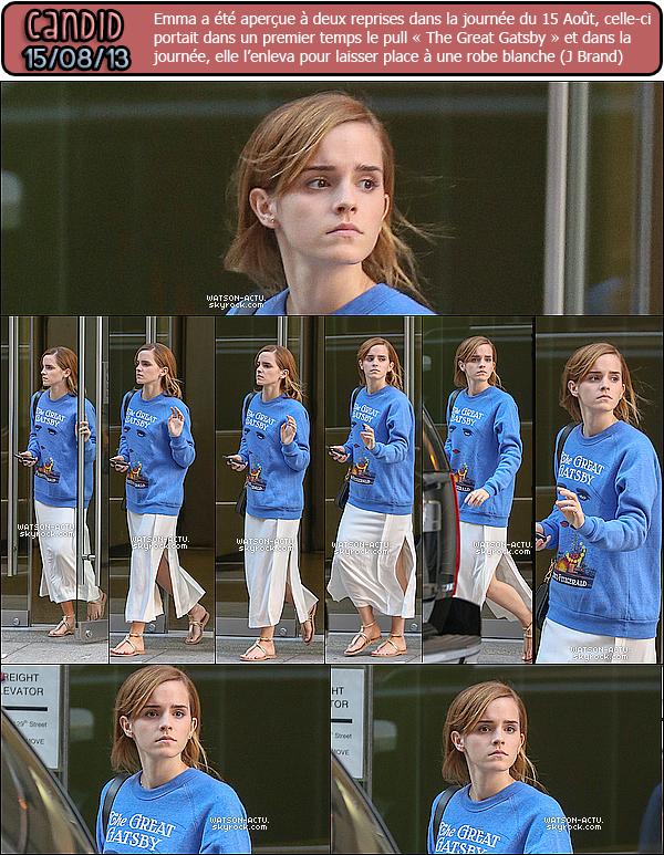 . » Nouvelles photos diverses d'Emma et Nombreux Candids ! «  ♥ Crédit sources utilisées: EmmaWatsonFan.net ♥ .