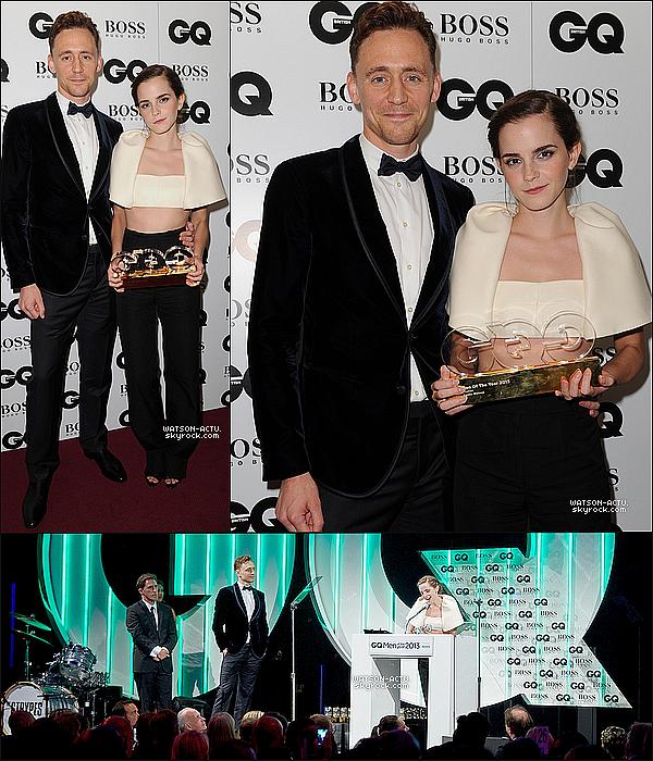 ". » Nouvelles photos persos + Shoots + Cérémonie ""Men Of The Year Awards"" ! « ♥ Crédit sources utilisées: EmmaWatsonFan.net & EmmaWatsonDaily.org ♥ ."