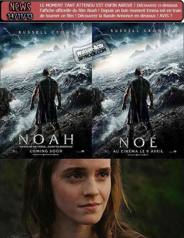 . » Nouveau Candid + Nombreuses nouvelles photos + NOAH, AFFICHE + B-A. ! « ♥ Crédit sources utilisées: EmmaWatsonFan.net ♥ .